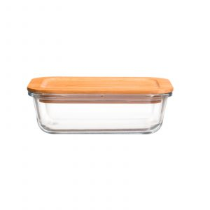 Maku food container with bamboo lid.